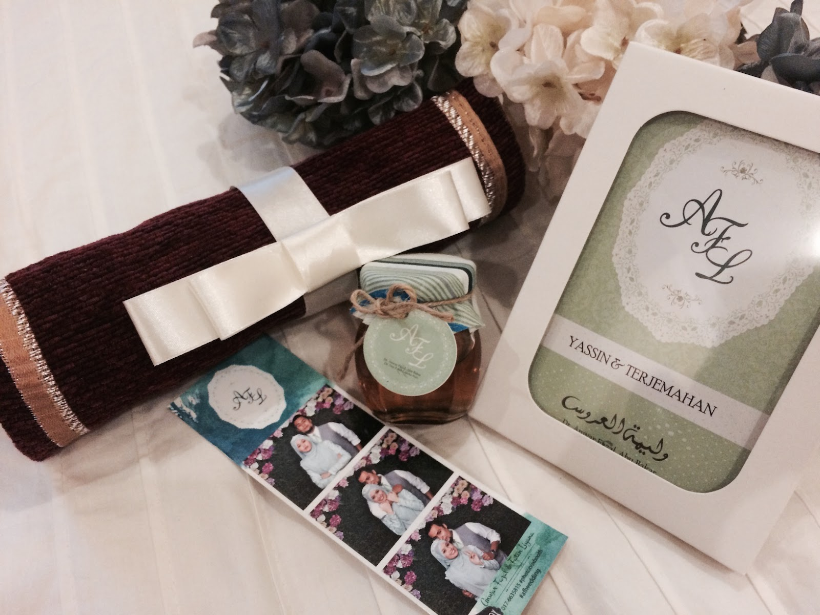 Fatin liyana idea doorgift kahwin for Idea door gift jimat