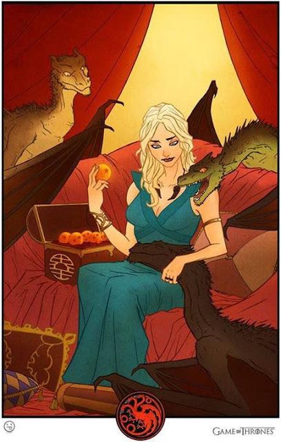 Daenerys bolas de dragón - Juego de Tronos en los siete reinos