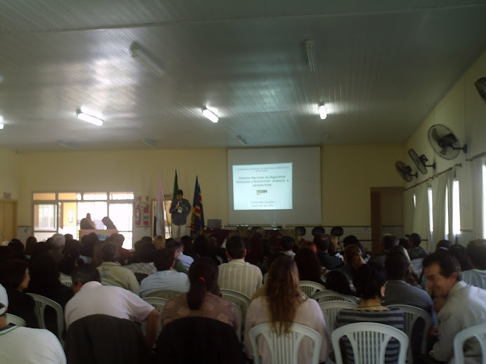 Prof. Alcemi: palestra SISAN - II CRSAN