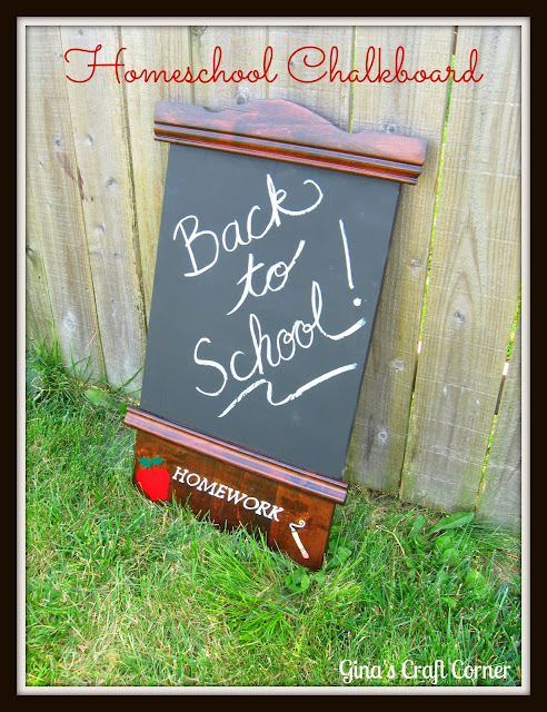 Homeschool Chalkboard