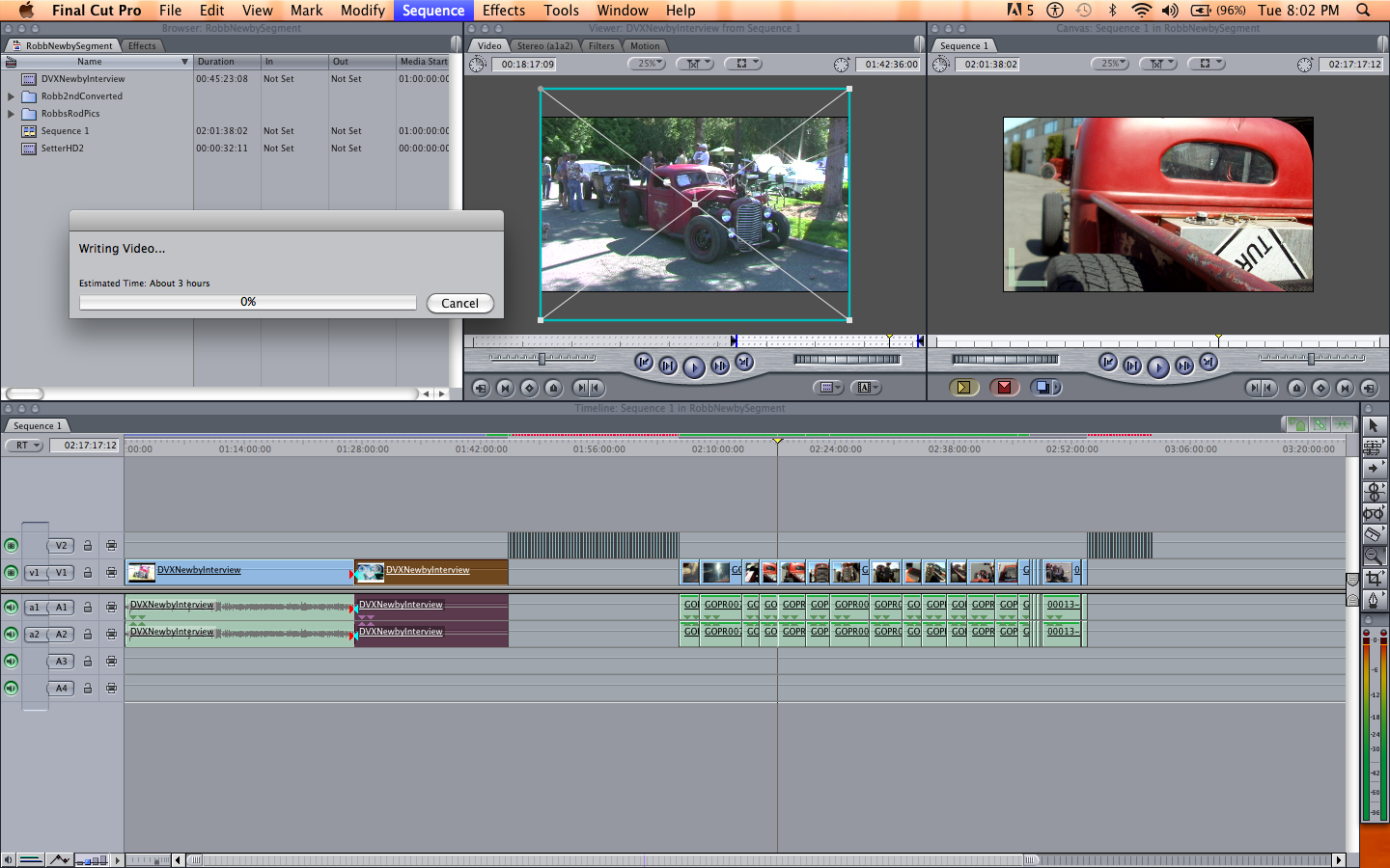 how to flip footage in final cut pro