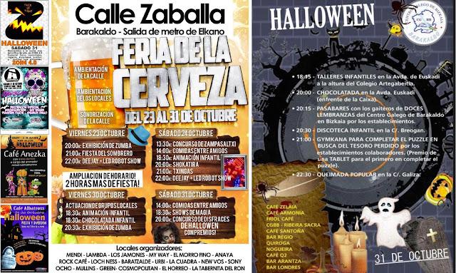 La hostelería de Barakaldo apuesta por Halloween