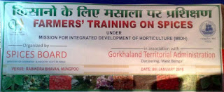 Training programme for large cardamom farmers by Spices Board
