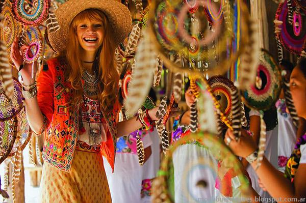 Moda y estilo bohemio primavera verano 2015. Tendencias de moda 2015 Bendito Pie.