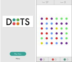 collega i punti colorati in Dots