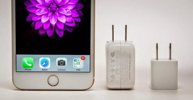 Tuyệt chiêu rút ngắn một nửa thời gian sạc pin iPhone 6