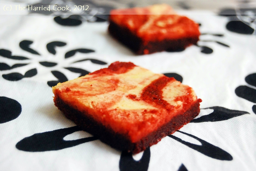 Red Velvet Brownies Out Of Cake Mix