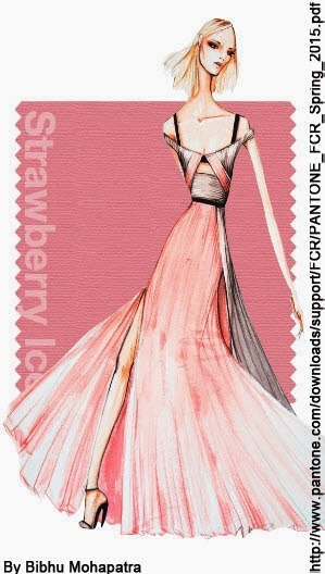 HIELO DE FRESA Fashion Color Report SS2015
