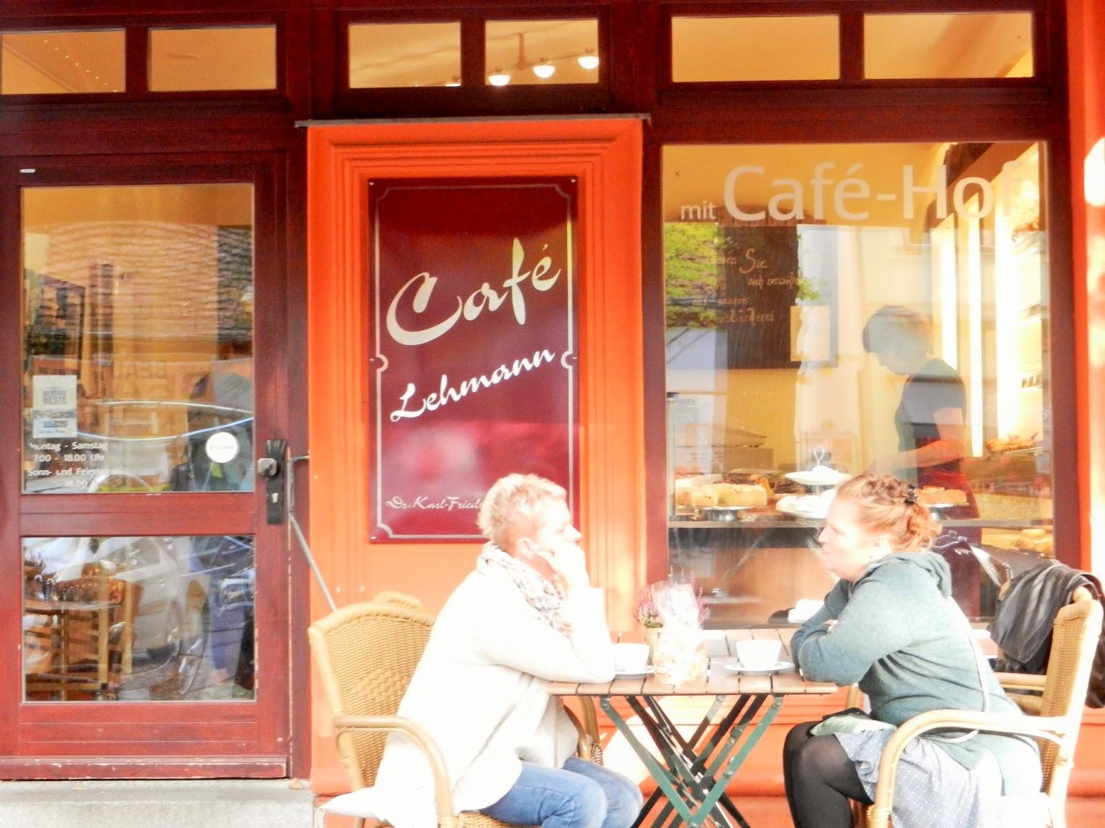 mademoiselle louve: café lehmann, friedrichshagen, berlin