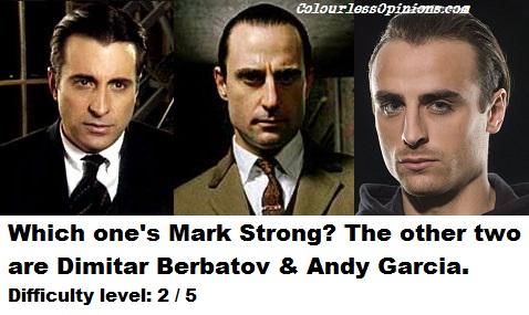 Andy Garcia, Mark Strong & Dimitar Berbatov