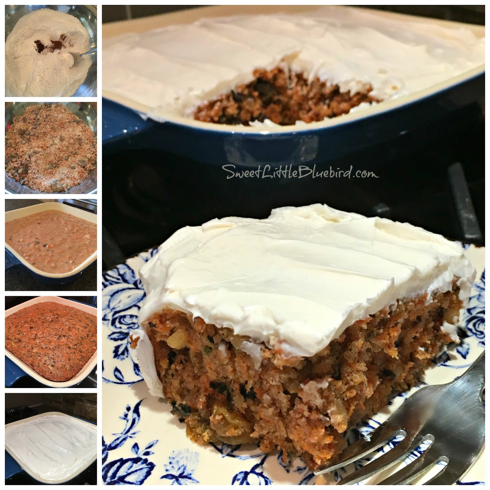 Crazy carrot cake no eggs milk or butter sweet little for Cake recipe without butter