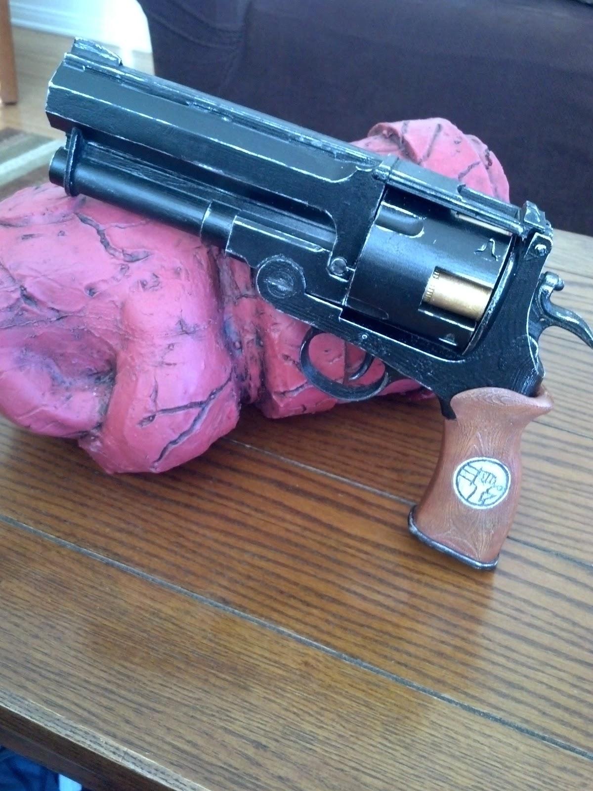 Hellboy Samaritan prop replica