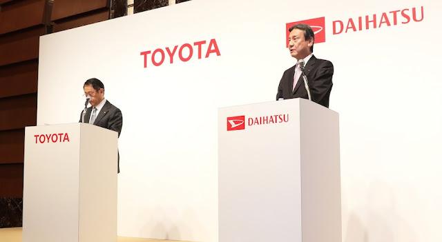 トヨタ、ダイハツの完全子会社化を正式発表。両ブランドでの小型車事業を強化へ。