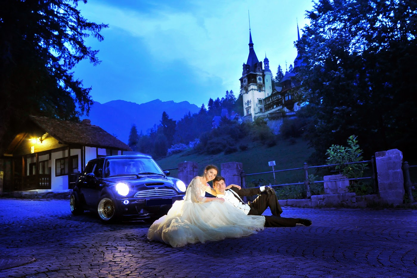 Wedding Photography at Peles Castle, Romania