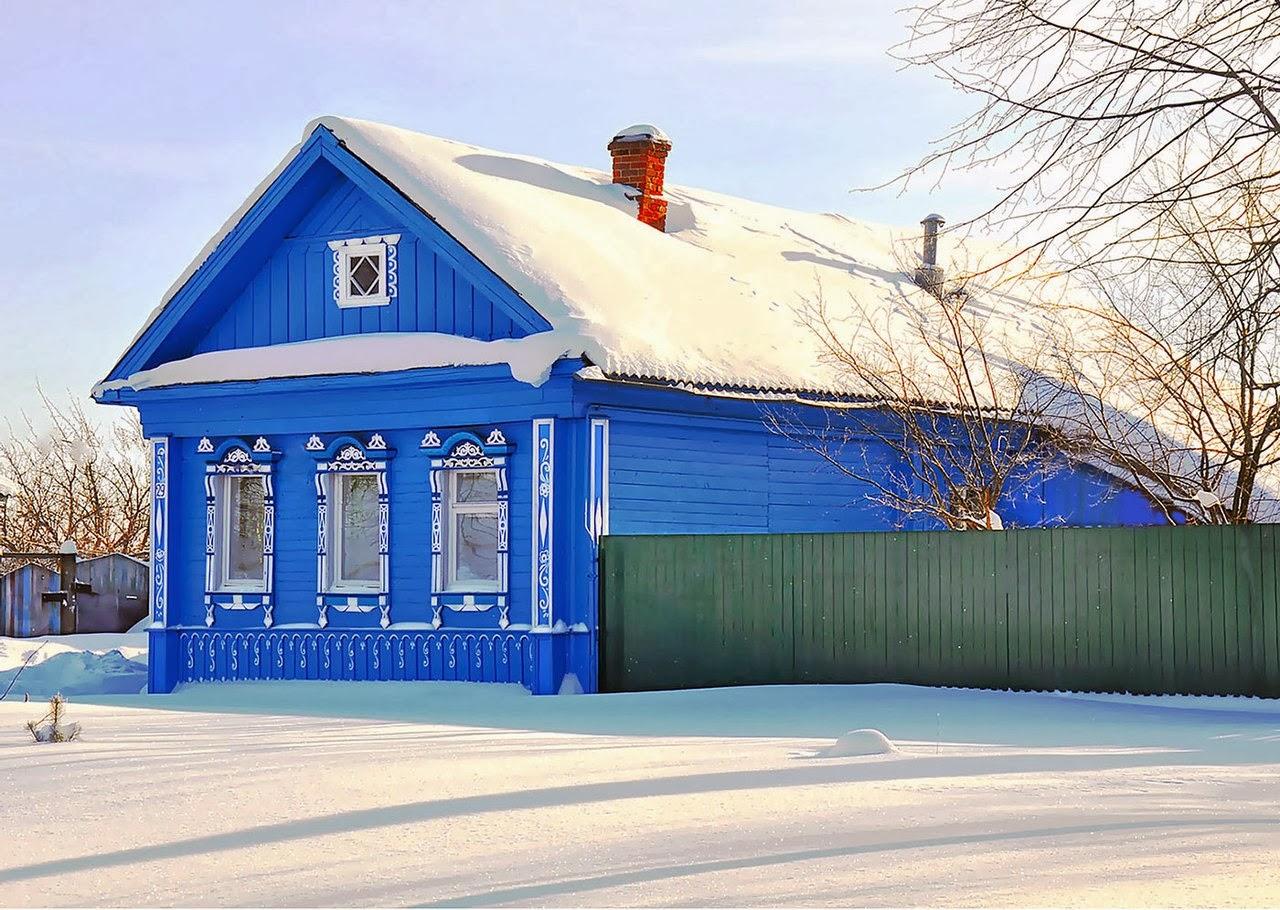 Russian Village In Russian 105