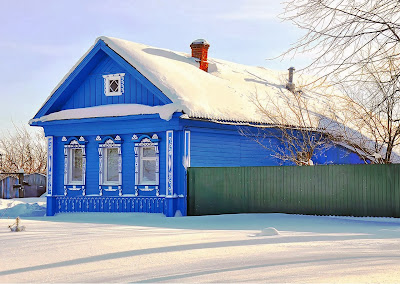 Russian village photos