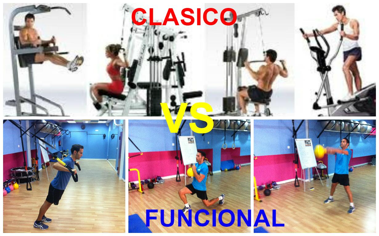Entrenamiento cl sico vs entrenamiento funcional for Entrenamiento gimnasio