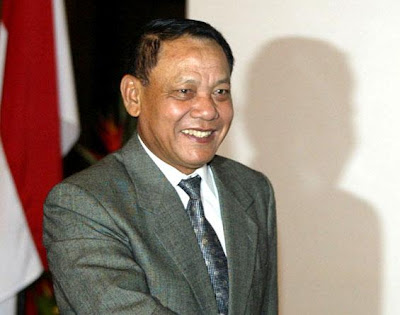 Mantan Panglima TNI Jenderal (Purn) Endriartono Sutarto