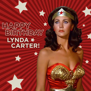 Happy birthday Lynda Carter who is still a Wonder Woman