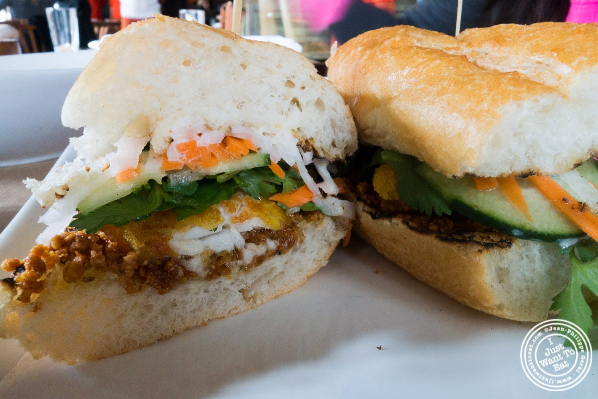 image of Bahn Mi at Spice Market in the Meatpacking District, NYC, New York