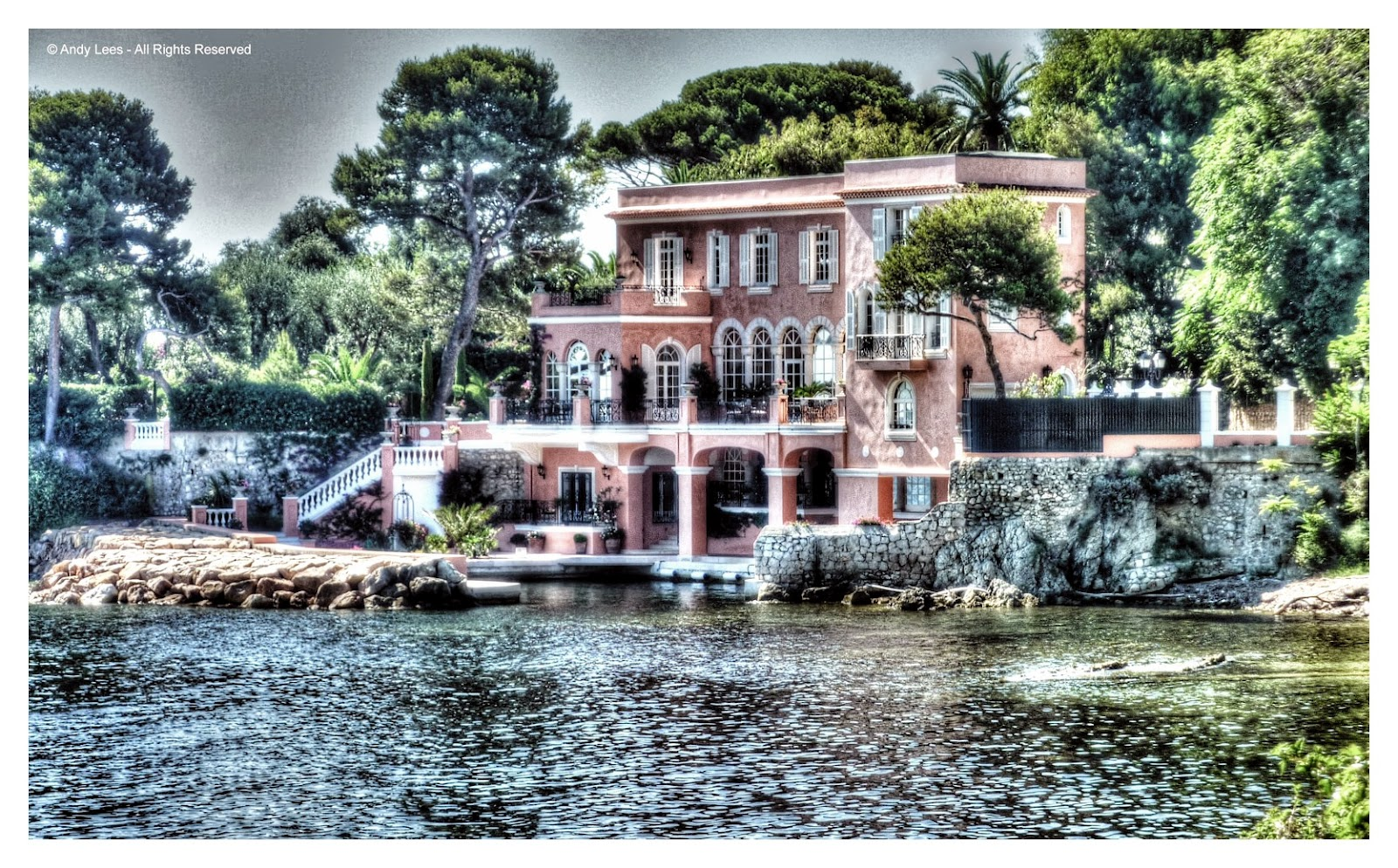 In focus with the world david niven 39 s house on cap ferrat House jeansy