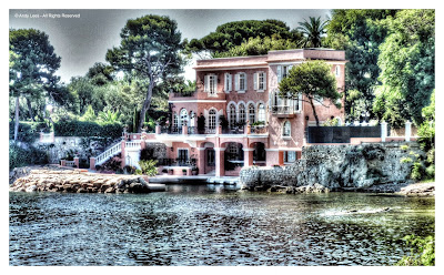 David Niven's house on Cap Ferrat
