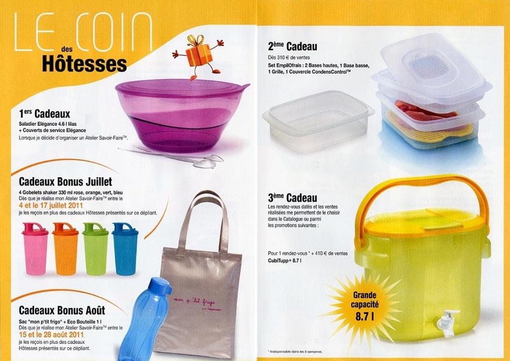 Conseill re culinaire tupperware dans le 87 haute vienne juillet 2011 - Pieces detachees tupperware ...