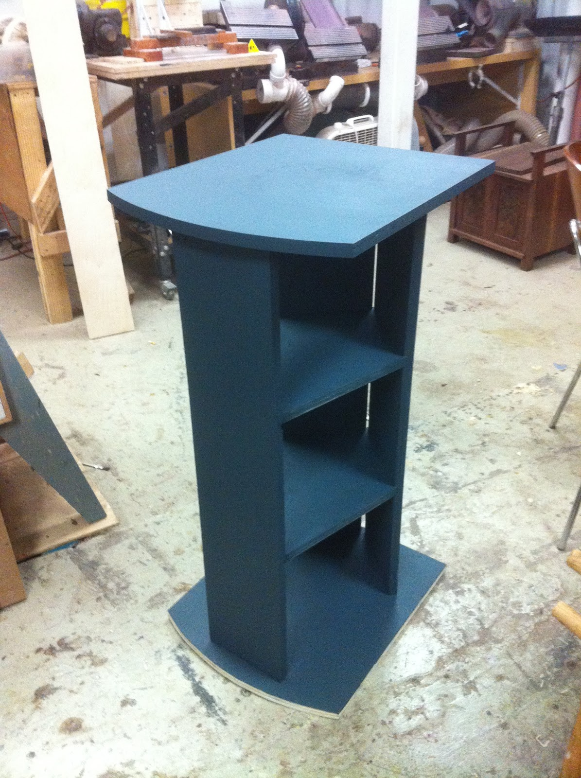 Idvw design new pedestal stand for the sera 15 gallon biotope for 15 gallon fish tank stand