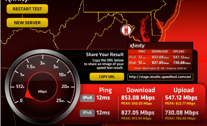 Xfinity speed test fake