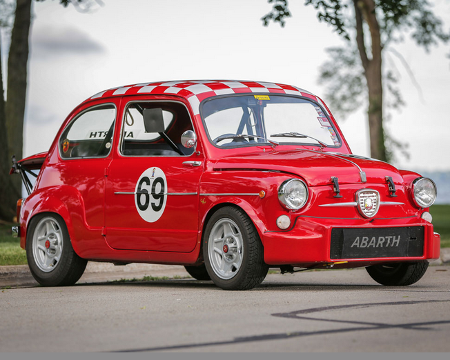 auto world sunday car porn abarth 850 tc and the even madder 1000 tcr. Black Bedroom Furniture Sets. Home Design Ideas