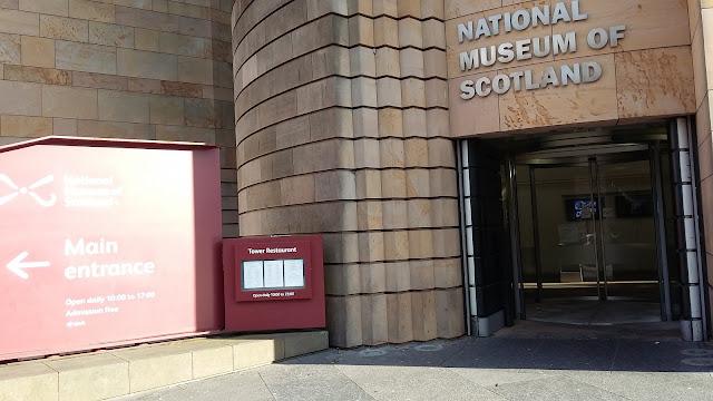 Yoga at Scotland's National Museum, Edinburgh