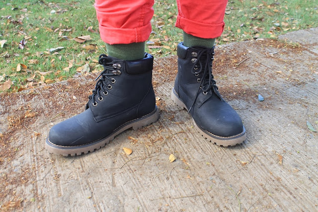 Socks from Oxygen and Boots from FinLust