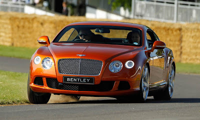 Bentley to debut new Continental GT Speed at Goodwood?