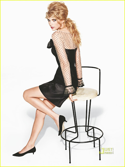 Taylor Swift in Glamour Magazine