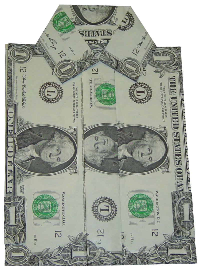 Money Talks Where To Find Instructions For Folding Money Into A