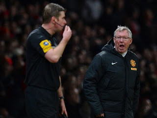 Walau protes Sir Alex Ferguson, tidak mendapatkan Sanksi FA
