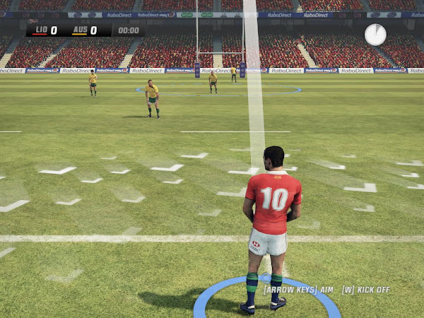 Screen Shot Of Rugby Challenge 2 (2013) Full PC Game Free Download At Downloadingzoo.Com