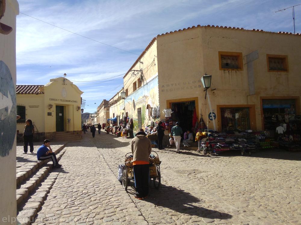 Quebrada, Humahuaca, Quebrada de Humahuaca, calles