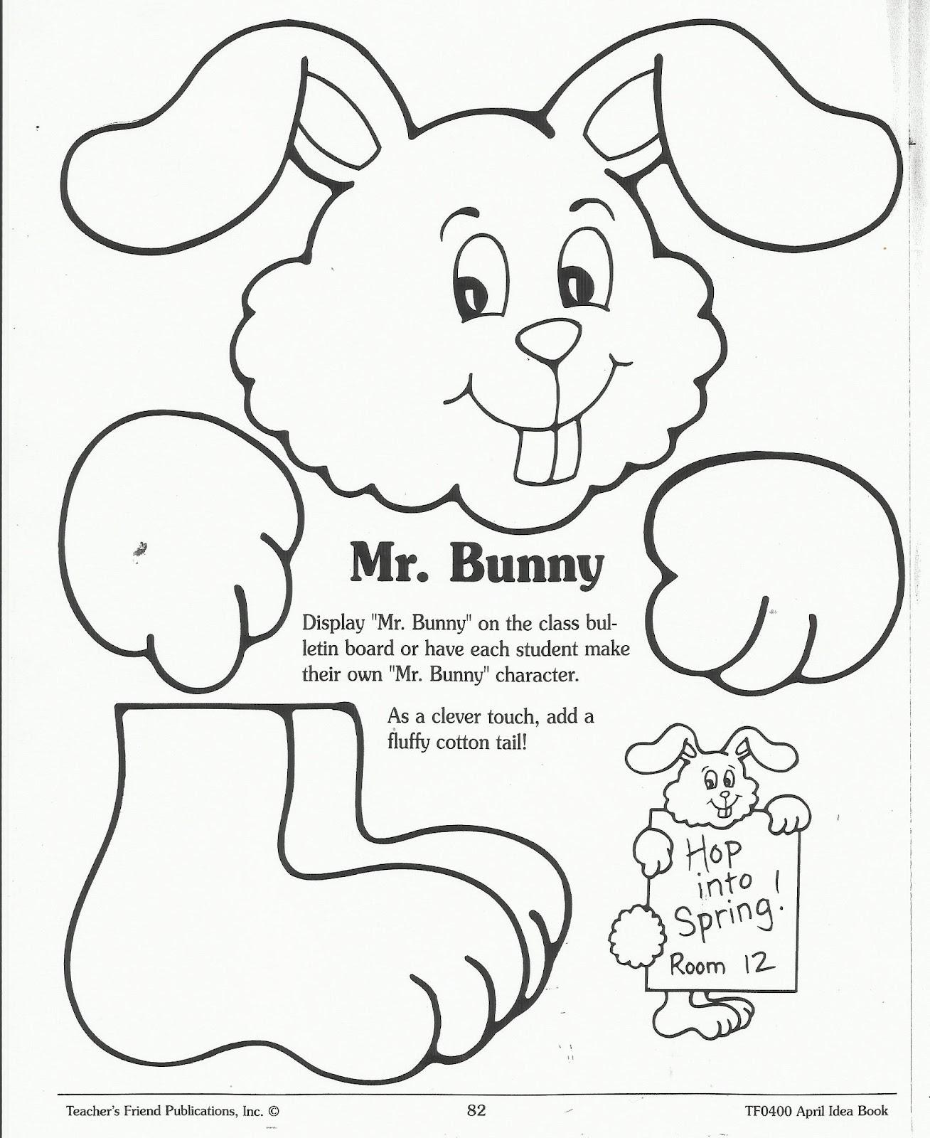 Vistoso Conejito De Pascua Páginas Para Colorear Para Imprimir ...