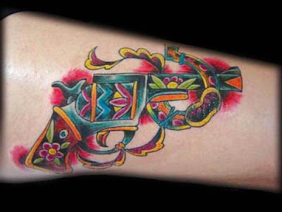 Gun Tattoo Design Picture Gallery - Gun Tattoo Ideas