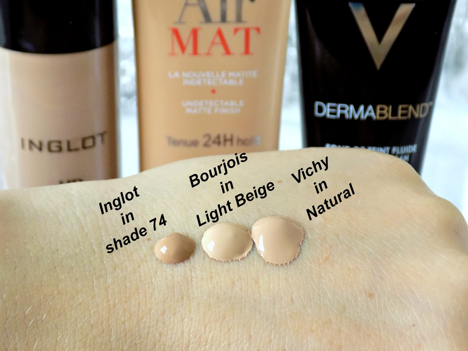 Inglot HD foundation