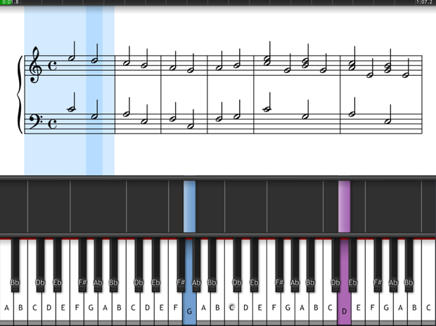 Learn to play the piano with Synthesia