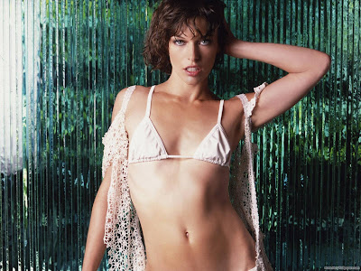 Milla Jovovich Actress Latest Wallpaper