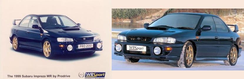 Subaru Impreza I, 1st, 1-gen, zdjęcia, japoński sportowy samochód, kultowy, 日本車, スポーツカー, スバル, edition version Prodrive WR Sport