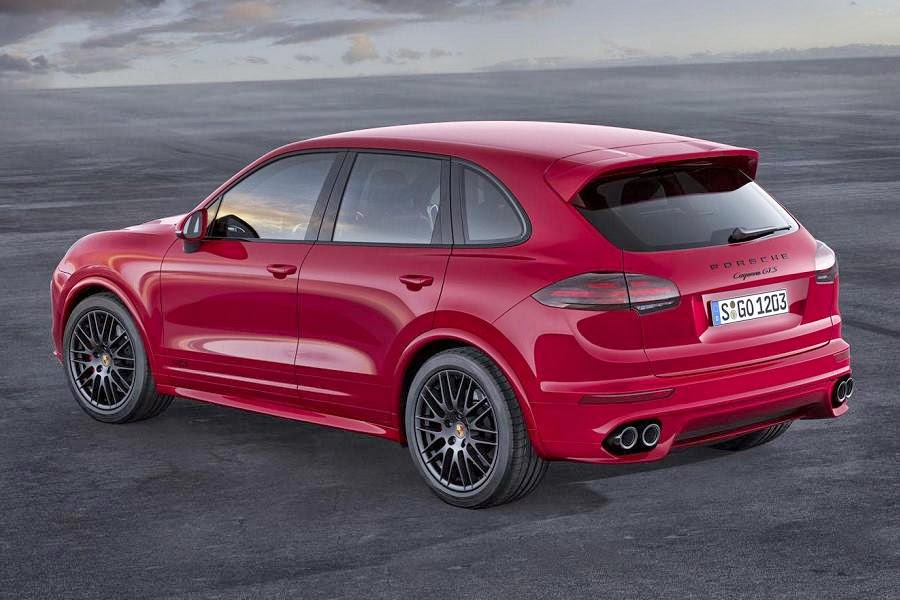 Porsche Cayenne GTS (2015) Rear Side