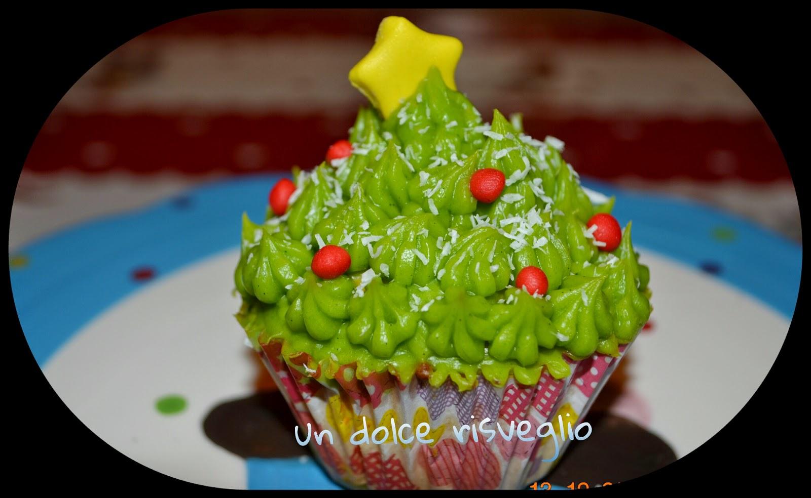 muffin natale ganache cioccolato