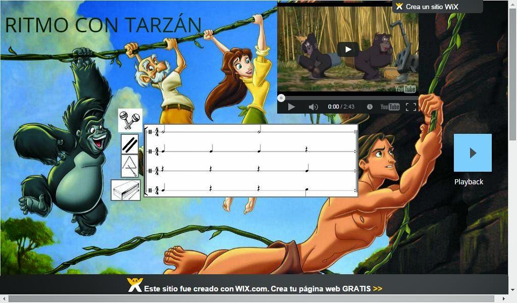 Ritmo con Tarzán