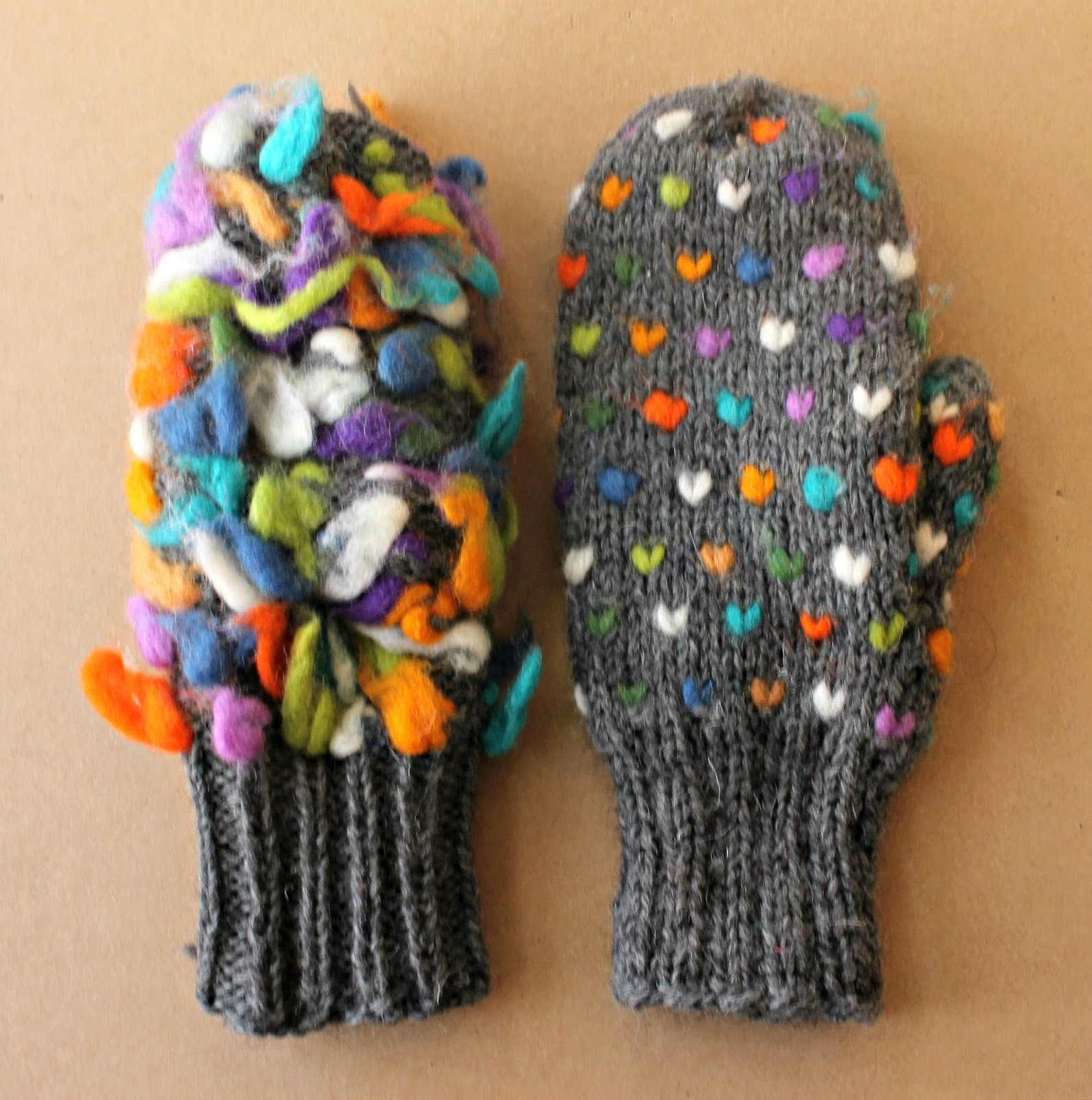 Knitting Pattern For Thrum Mittens : the cast on blog: KNIT // thrummed mittens