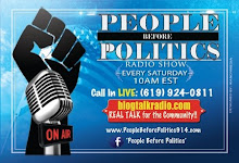 PEOPLE BEFORE POLITICS RADIO SHOW