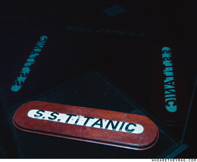Оригинальная табличка с Титаника